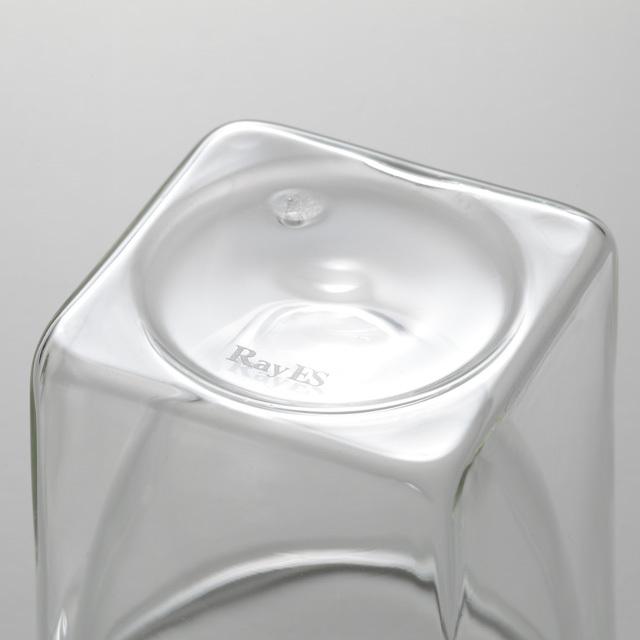 004S 底面 rayes レイエス ダブルウォールグラス