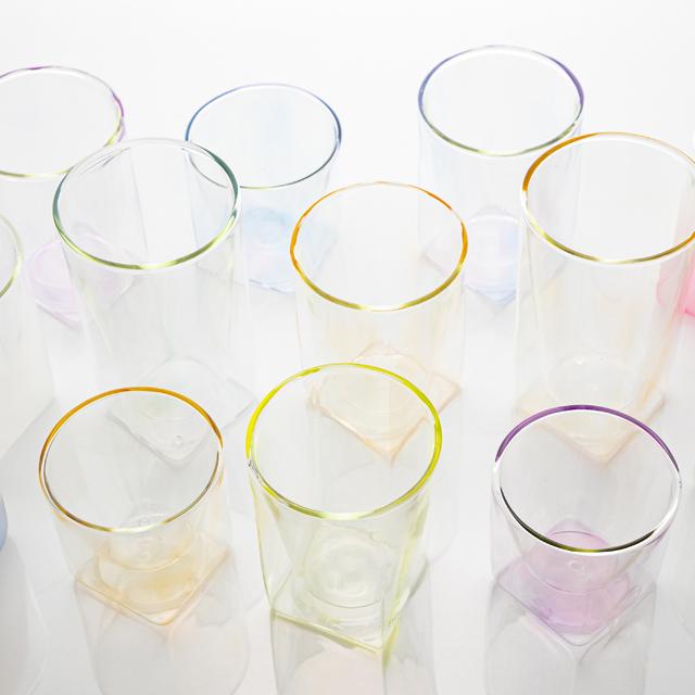 カラー シリーズ color series rayes レイエス ダブルウォールグラス