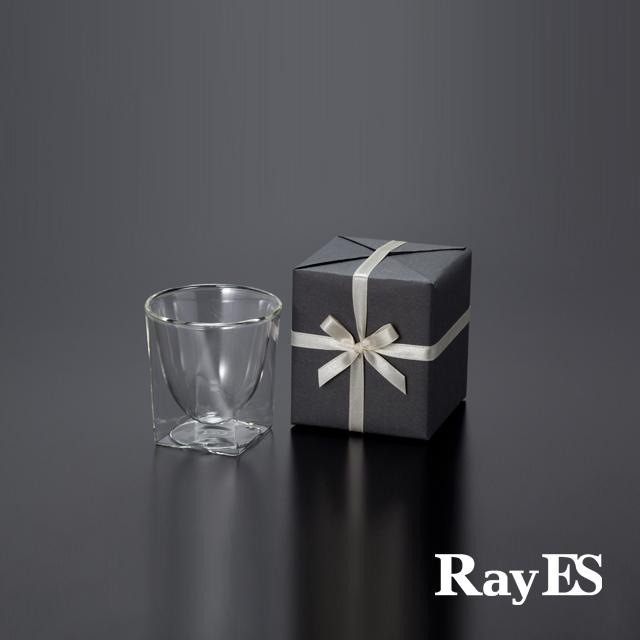 ダブルウォールグラスRayESレイエスのギフト グラス セット ティー