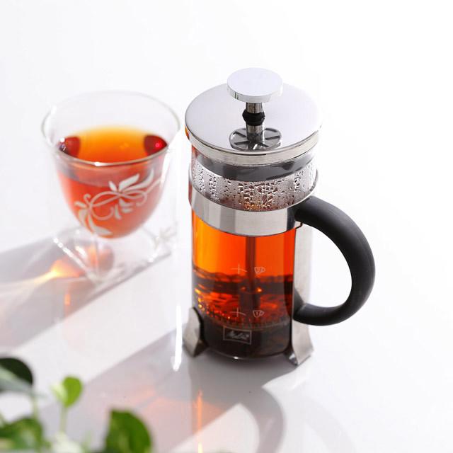 紅茶 フレンチプレス ボダム メリタ 珈琲 コーヒー melitta coffee rayes レイエス スクエア ダブルウォールグラス