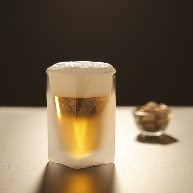 フロスト 曇りガラス ビール rayes レイエスダブルウォールグラス