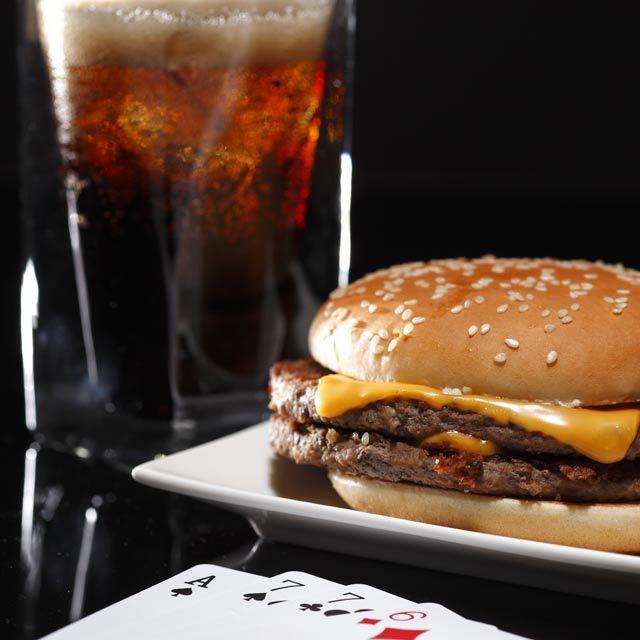 ハンバーガー コーラ トランプ アメリカ rayes レイエスダブルウォールグラス