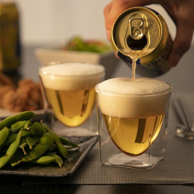 家飲み 家呑み 宅飲み 宅呑み ビール ienomi beer rayes レイエス ダブルウォールグラス