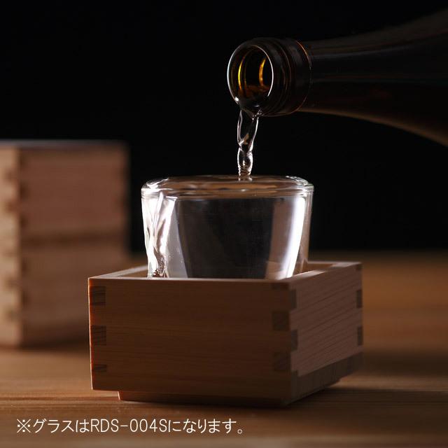 マス ます 枡酒 日本酒 冷酒 もっきり rayes レイエス ダブルウォールグラス