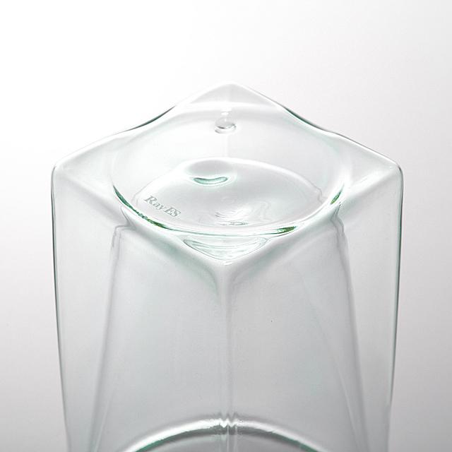 底 ミスト グリーン green カラー シリーズ color series rayes レイエス ダブルウォールグラス