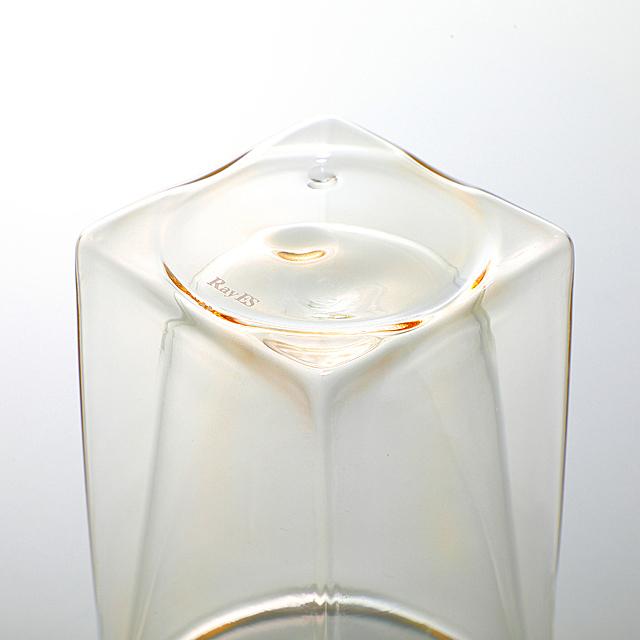 底 ミスト オレンジ orange カラー シリーズ color series rayes レイエス ダブルウォールグラス
