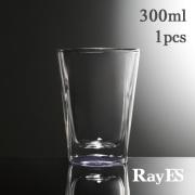 RayES/レイエス ダブルウォールグラス RDS-002cpk 300ml  クリアーピンク