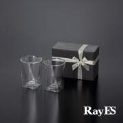 ダブルウォールグラスRayESレイエスのギフト グラス セット