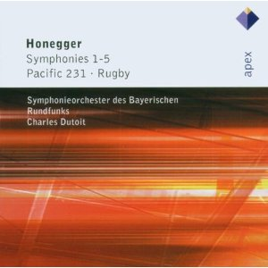 オネゲル/交響曲全集(2CD)