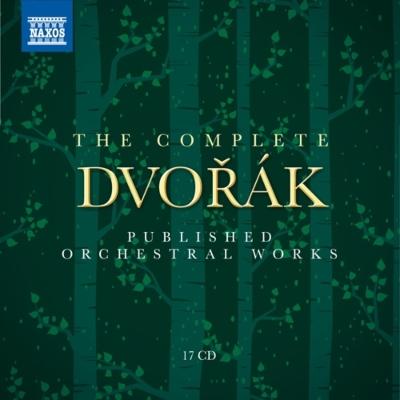 ドヴォルザーク/出版された管弦楽作品全集~交響曲、管弦楽曲、協奏曲全集(17CD)