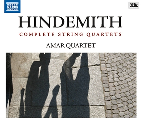 ヒンデミット/弦楽四重奏曲全集(3CD)