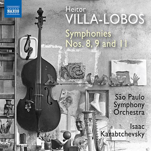 ヴィラ=ロボス/交響曲第8番、第9番、第11番