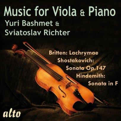 ヒンデミット、ブリテン、ショスタコーヴィチ/ヴィオラとピアノのための音楽