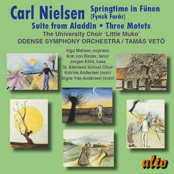 ニールセン/フューンの春、「アラジン」組曲、3つのモテット