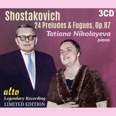 ショスタコーヴィチ/24の前奏曲とフーガ Op.87(3CD)