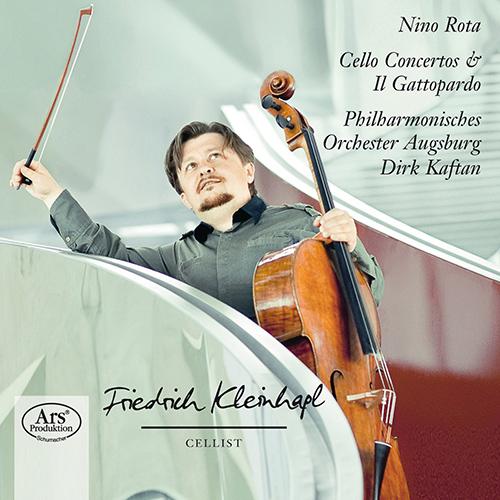 ニーノ・ロータ/チェロ協奏曲第1番、第2番、映画「山猫」から舞曲集【SACD】