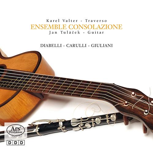 ジュリアーニ、カルッリ、ディアベッリ/フラウト・トラヴェルソとギターのための作品集