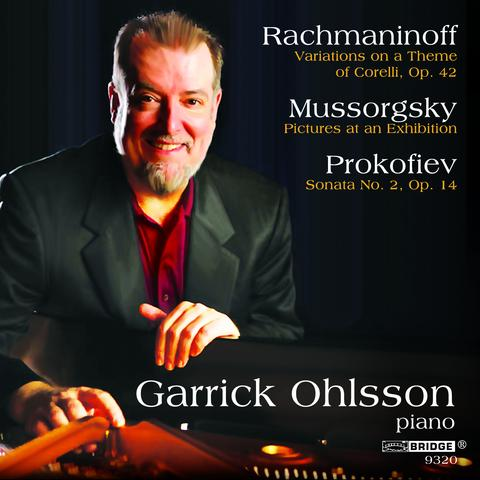 ラフマニノフ/コレッリの主題による変奏曲、プロコフィエフ/ピアノ・ソナタ第2番、ムソルグスキー/組曲「展覧会の絵」