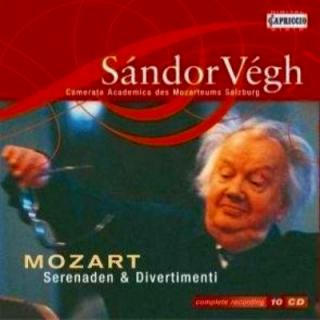 モーツァルト/セレナーデ&ディヴェルティメント全集(10CD)