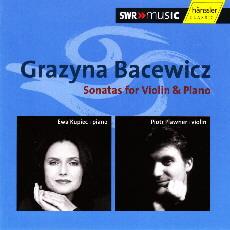 バツェヴィチ/ヴァイオリンとピアノのための作品全集(2CD)