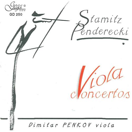 シュターミッツ/ヴィオラ協奏曲第1番、ペンデレツキ/ヴィオラ協奏曲