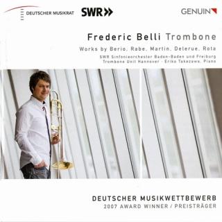 ニーノ・ロータ/トロンボーン協奏曲、ベリオ/ソロ、マルタン/バラード、ほか