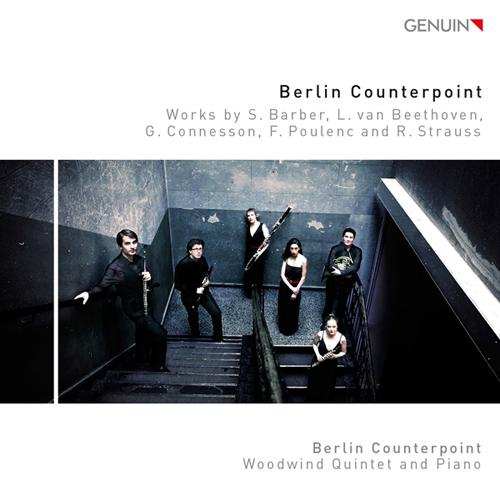 プーランク、ベートーヴェン、コネソン、バーバー、R・シュトラウス/木管五重奏とピアノのための作品集