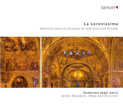 「セレニッシマ(ヴェネチア)」〜アルビノーニ、ヴィヴァルディの教会ソナタ集(オーボエと通奏低音による)
