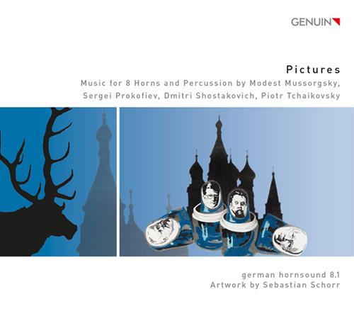 「ピクチャーズ」~ホルン八重奏と打楽器のための編曲集