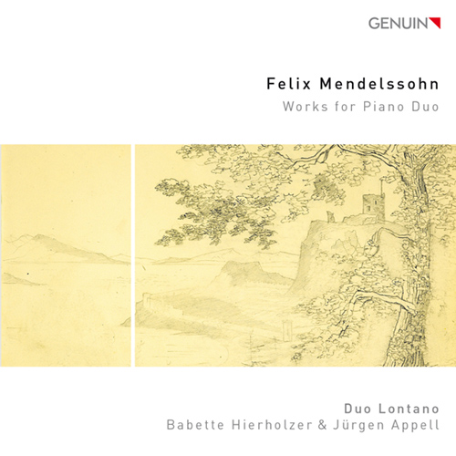 メンデルスゾーン/ピアノ4手、2台ピアノのための作品集