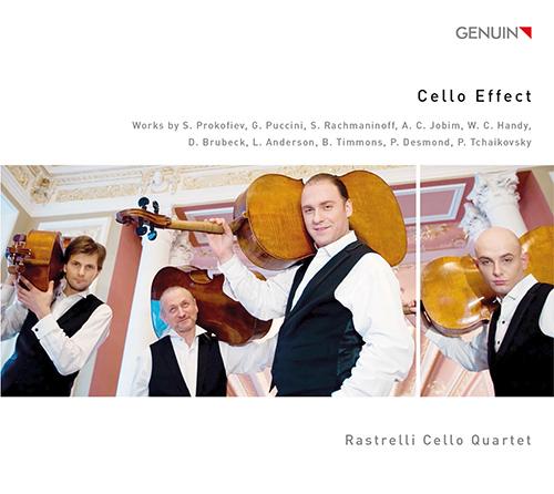 「チェロ・エフェクト」~プロコフィエフ、プッチーニ、ラフマニノフ、ジョビン、ブルーベック/チェロ四重奏のための編曲集