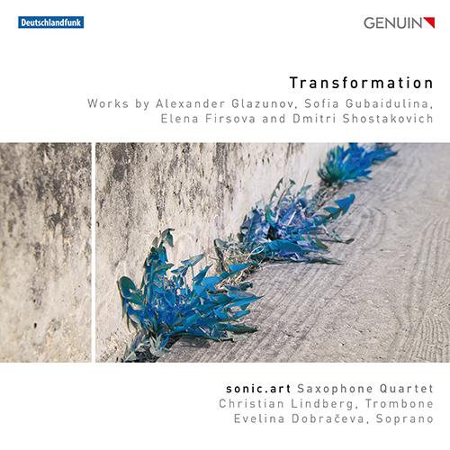 「変容」〜グラズノフ、グバイドゥーリナ、フィルソヴァ、ショスタコーヴィチ/サクソフォン四重奏曲集