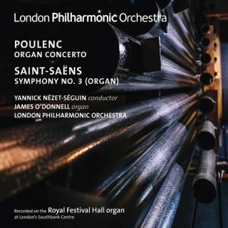 プーランク/オルガン協奏曲、サン=サーンス/交響曲第3番「オルガン付」