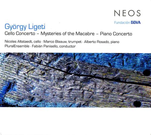リゲティ/チェロ協奏曲、マカーブルの秘密の儀式、ピアノ協奏曲