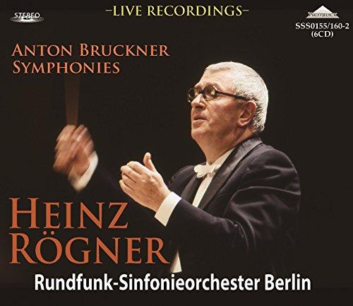 「ハインツ・レーグナーの芸術」~ブルックナー/交響曲名演集(6CD)