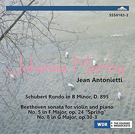 ベートーヴェン/ヴァイオリン・ソナタ第5番「春」、第8番、シューベルト/華麗なるロンド