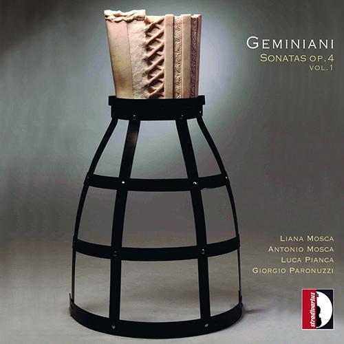 ジェミニアーニ/ヴァイオリン・ソナタ集 Op.4