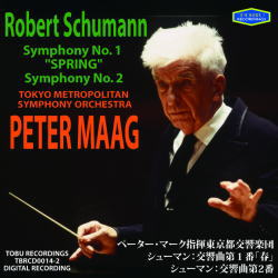 シューマン/交響曲第1番「春」、第2番