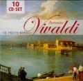 ヴィヴァルディ/協奏曲集、カンタータ集、宗教曲集(10CD)