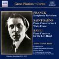 フランク/交響的変奏曲、サン=サーンス/ピアノ協奏曲第4番、ラヴェル/左手のための協奏曲