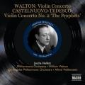 ウォルトン/ヴァイオリン協奏曲、カステルヌオーヴォ=テデスコ/ヴァイオリン協奏曲第2番「預言者」ほか