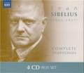 シベリウス/交響曲全集、劇音楽「テンペスト」第1,2組曲(4CD)