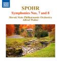 シュポア/交響曲第7番「人生の世俗と神聖」、第8番
