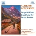 L・モーツァルト、デトワイラー、ファルカシュ/アルペンホルンのための協奏曲集
