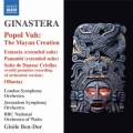 ヒナステラ/バレエ「エスタンシア」より、クレオール風舞曲の組曲、バレエ「バナンビ」より、オジャンタイ、ポポル・ヴー