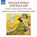 「イタリアの歌曲とバラード集」〜トスティ/歌曲集