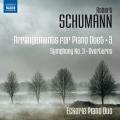 シューマン/交響曲第3番「ライン」、序曲集(4手ピアノ版)