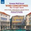 ヴォルフ=フェラーリ/管楽器のための協奏曲集