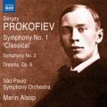 プロコフィエフ/交響曲第1番、第2番、交響的絵画「夢」