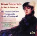 ハチャトゥリアン/「仮面舞踏会」組曲、「ヴァレンシアの寡婦」組曲、舞踏組曲、「スターリングラードの戦い」組曲